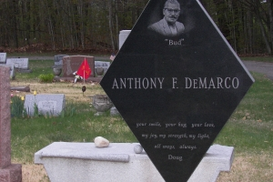 DeMarco black and gray bench monument.jpg