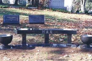 Hax black granite bench with vases.jpg