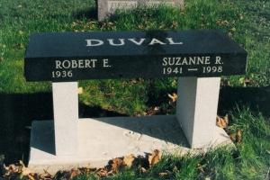 Duval-bench-memorial