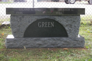Green-bench-memorial