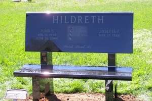 Hildreth Black Bench.JPG