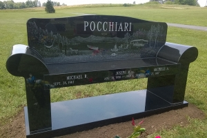 Pocchiari-black-bench-with-etching.JPG