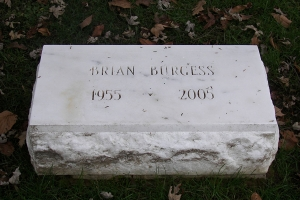 Burgess-marble-marker