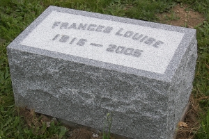 Frances granite matching marker.JPG