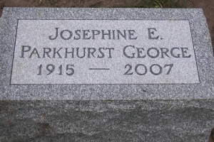 George-cemetery-pillow-marker