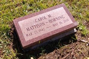 Horning-cemetery-gravemarker