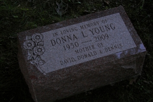 Young-cemetery-marker