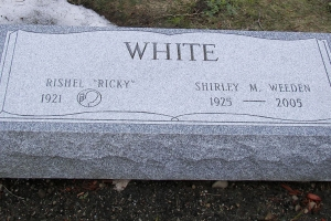 White-cremation-marker-over-buried-ashes