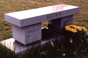 cremation-bench-memorial-for-Brown