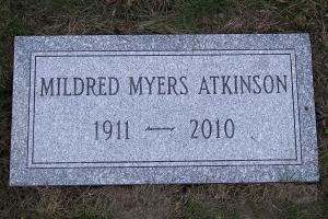Atkinson-cemetery-marker