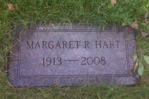 Hart-gravemarker