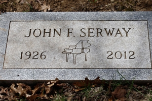 Serway-flush-grass-marker
