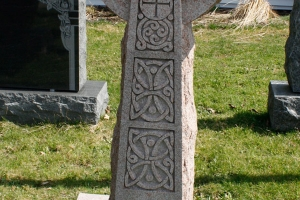 celtic-cross-design-as-cemetery-monument