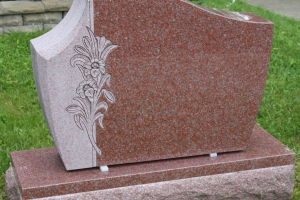 customized-shape-granite-memorial