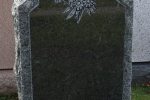 laurentian green - butterfly - rock edge - grave stone