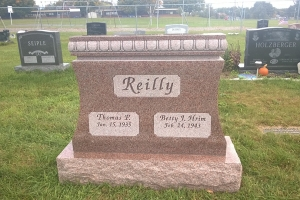 Reilly Pink Special Shape Upright for Cremation.JPG