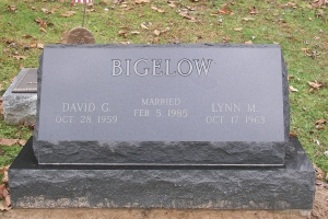 Bigelow-slant-marker-on-base