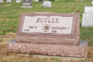 Butler-granite-slant-on-base