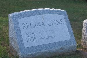Cline-slant-gravestone