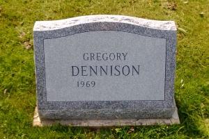Dennison-barre-gray-slant-style-monument