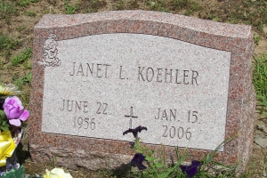 Koehler-single-slant-marker
