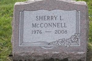 McConnell-gravemarker