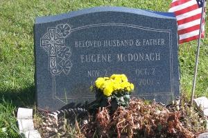 McDonagh-granite-slant-marker