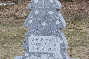 Adele unique shape memorial.JPG