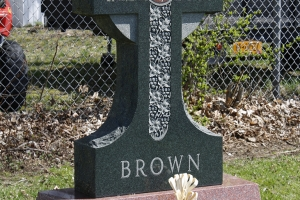 Brown Green Special Shape Cross Upright.jpg