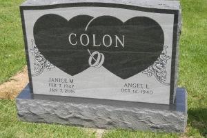 Colon black upright