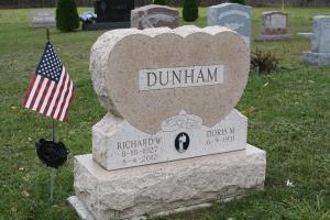 Dunham Pink Heart Upright.JPG