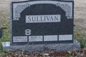 Sullivan celtic cross design on memorial.jpg