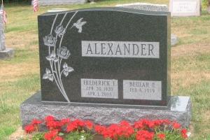 Alexander-companion-monument
