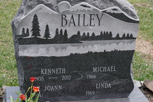 Bailey-unique-random-shape-memorial