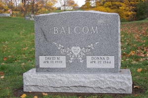 Balcom-traditional-shape-memorial