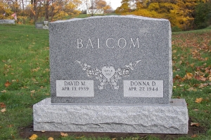 Balcom traditional shape memorial.JPG