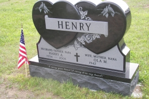 Henry Black Special Shape Heart Upright.jpg