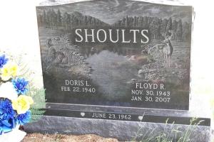 Shoults-companion-upright-memorial