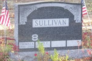 Sullivan-granite-tombstone