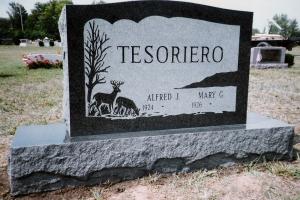 Tesoriero-upright-cemetery-headstone