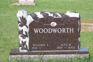 Woodsworth Brown Sculpted Tree Upright.JPG