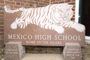 Mexico High School granite sign.jpg